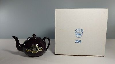 Uhl Collectors Society 2005 Teapot with Box 20th Anv