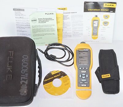 Fluke 805 High Precision Vibration Meter Analyzer analyser 10-20kHz