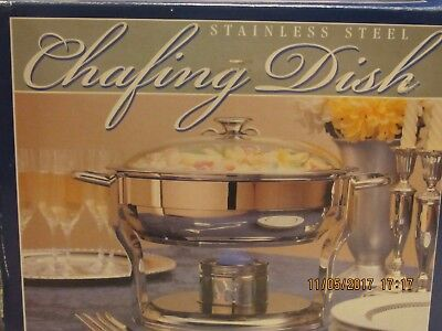 Stainless Steel 4 Quart Chafing Dish * Made In Korea *
