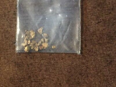 Genuine Natural Placer Gold Flake 0.10 Grams