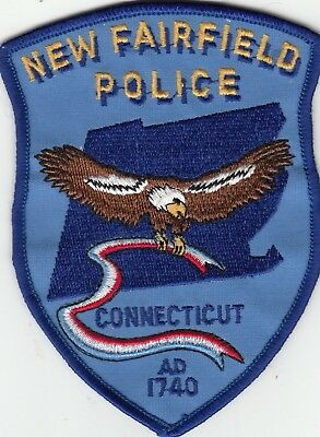 New Fairfield Police Shoulder Patch Connecticut Ct