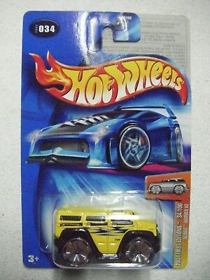 Hot Wheels Blue Card Card#034 2004 1St Editions 34/100 Blings Hummer H2