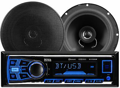 BOSS AUDIO Single-din In-dash Mechless Am/fm Receiver System with Bluetooth a...