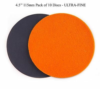 4.5 inch (115mm) GP20 Abrasive Disc for Glass or Plastic, ULTRA-FINE GRADE (p...