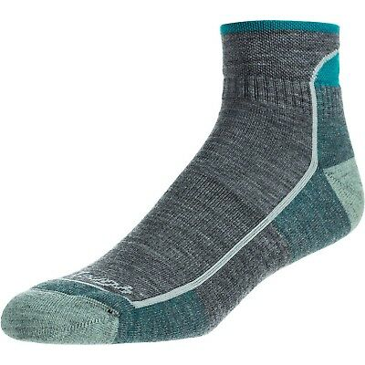 Darn Tough Vermont Women's 1/4 Cushion Hiking Socks Slate Small (4.5-7)