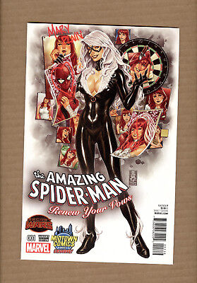 Amazing Spider-Man Renew Your Vows #1 Mark Brooks Midtown Black Cat Variant Nm