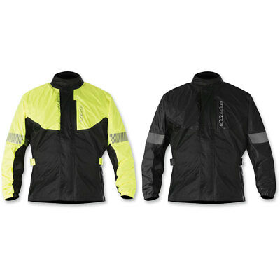 2018 Alpinestars Mens Hurricane Rain Jacket Motorcycle Riding Gear - Size/Color