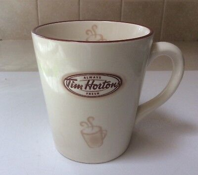 "Tim Horton's Coffee Mug Limited Edition 007 ""Always Fresh""  2007 16oz"