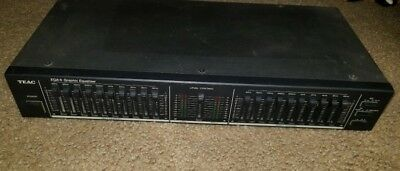 Vintage Teac EQA-5  - 10 Band Graphic Equalizer EQA 5 - Very Good Condition