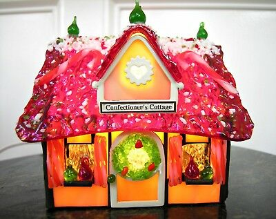 FORMA VITRUM CONFECTIONER'S COTTAGE Stained Glass HAND SIGNED Bill Job #447/2500