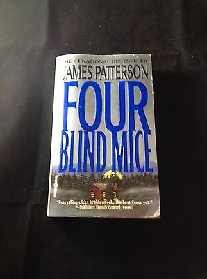 Four Blind Mice by James Patterson, Paperback