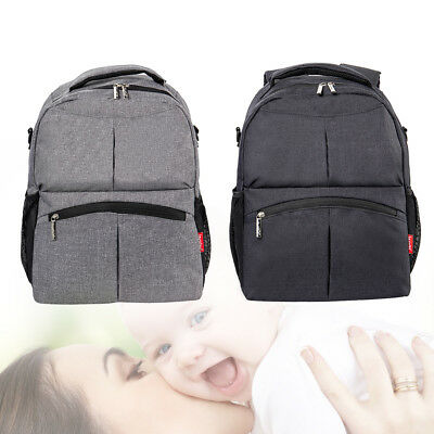 Baby Diaper Backpack Multifunctional Mum Bag Nappy Changing Mummy