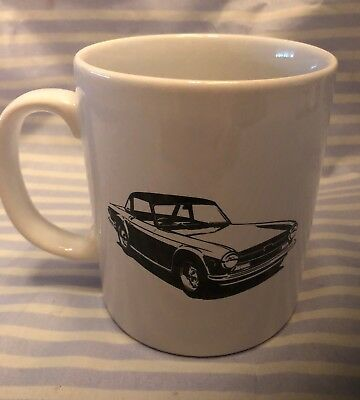 Triiumph Car Logo Kilncraft England Ceramic Coffee Cup Mug