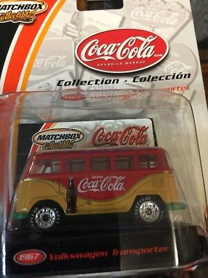 Matchbox Collectibles Coca Cola Collection 1967 VW Transporter