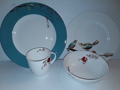 Lenox Chirp One Set Of 4 Piece Serving 1 New