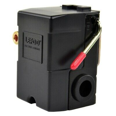 LEFOO Pressure Switch for Air Compressor 95-125 PSI Single PORT w/unloader