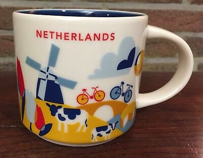 Starbucks You Are Here Collection Netherlands New NEU mit SKU Nummer