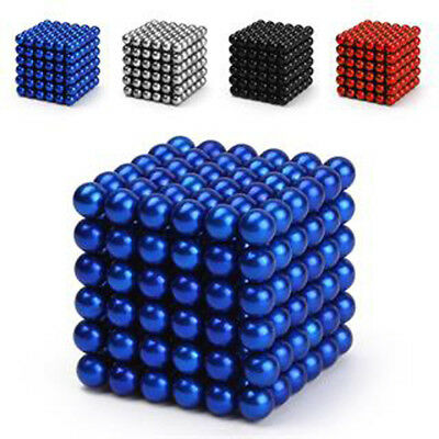 216pc 3&5mm Magnet Balls Magic Beads 3D Puzzle Ball Sphere Magnetic Kids Toys