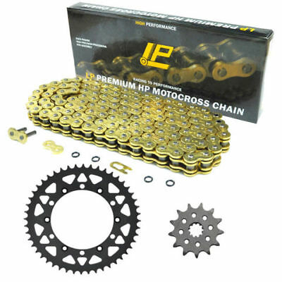 For Yamaha YZ250 YZ250F 520 48/13T Front & Rear Carbon Sprocket Chain Kit NEW