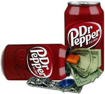DrPepper Home Security Safe Can Secret Container Hidden Diversion Stash Box Soda