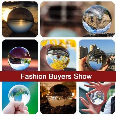60mm Crystal Photography Lens Ball Photo Prop Background Lensball Home Decor