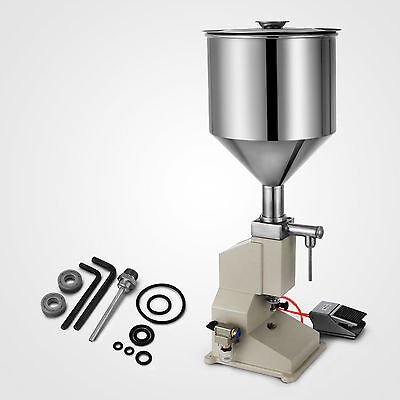 A02 Pneumatic Liquid Paste Filling Machine for Cream Shampoo Cosmetic 5~50ml CE