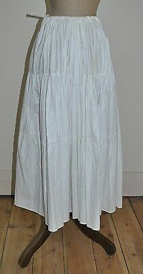 Tiered Cotton Petticoat - Formal,Debutante,Wedding Dress