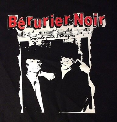 BERURIER NOIR Concerto pour Detragues big back patch punk french