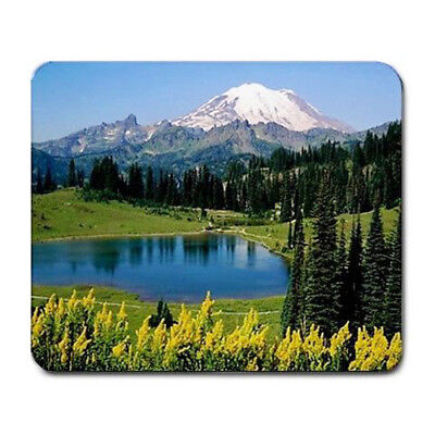 Scenic Mountain picture Large Mousepad Mouse Pad Great Gift Idea