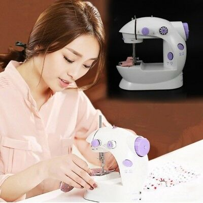 Newest Multifunction Electric Mini Sewing Machine Household Desktop Chain Stitch