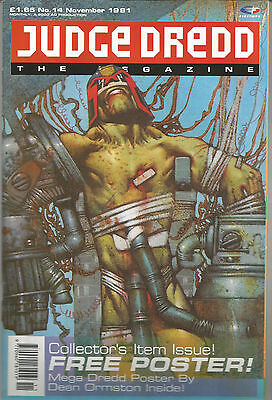 Judge Dredd Megazine Vol 1 #14 November 1991