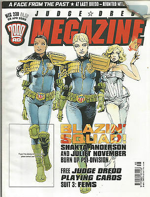 Judge Dredd Megazine Vol 4 #230 April 2005