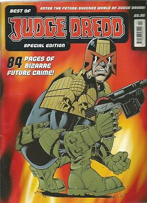 The Best Of Judge Dredd Special Edition 1999