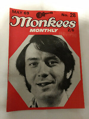 Monkees Monthly Magazine No.28 May 1969