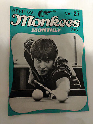 Monkees Monthly Magazine No.27 April 1969