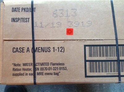 US EPA, MRE, Meal Ready to Eat Typ A Notverpflegung  Insp. Date 11-19