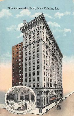 NEW ORLEANS, LA Louisiana   GRUNEWALD HOTEL~Cave Dining View   c1910's Postcard