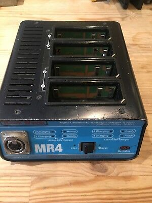 HAWK-WOODS MR4 4-WAY CHARGER for Li-Lon, Ni-Cad and Ni-Mh  Batteries for NP-1