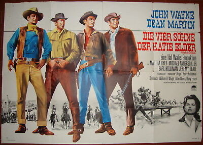 The Sons of Katie Elder-Western-H.Hathaway-J.Wayne-D.Martin-German (33x47 inch)