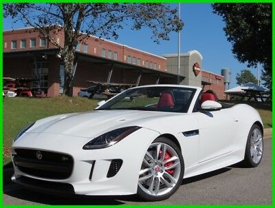 2016 Jaguar F-Type R 5.0L SUPERCHARGED V8 AUTOMATIC NAVIGATION BACKUP CAMERA BLACK CONVERTIBLE TOP