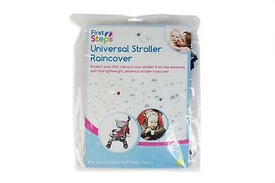 Heavy Duty Rain Cover Universal Pram Stroller Buggy Baby Child Toddler