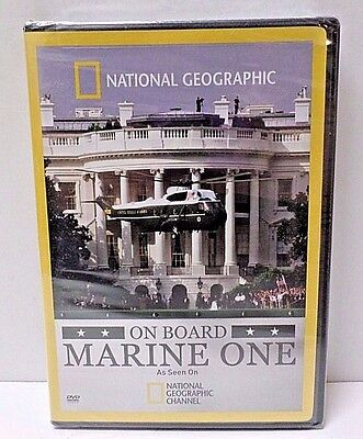 On Board Marine One (DVD, 2009) National Geographic Marine Corp HMX-1 NEW SEALED