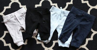 Old Navy - Infant Baby - Lot of Cotton & Waffle Knit Pants 0-3 months