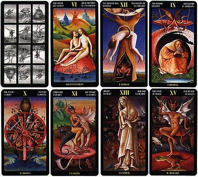 Bosch Tarot 6 Languages 79 Cards Deck New Sealed ANKH Swiss Quality