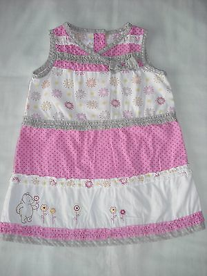 Mothercare baby girls winnie the pooh dress 0-3 months spring summer