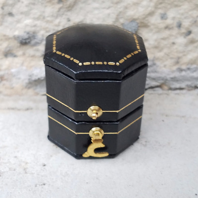 Antique Vintage Victorian Style Presentation Ring Box, Jewelry Box, Engagement