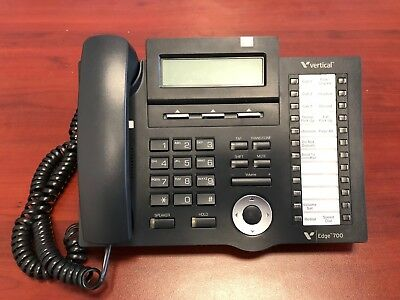 Vertical Communications Edge 700 24 Button Display Phone VW-E700-24B -USED-