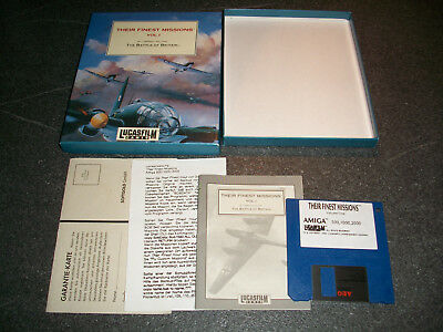 AMIGA : The Battle of Britain-Their finest Missions 1 - Box,komplett,s.g.Zustand