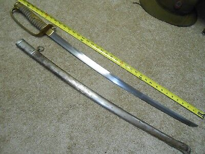 Old Family Blade WW2 Japanese Sword Kyu Gunto,Mon, Signed Old Early Shinto Blade