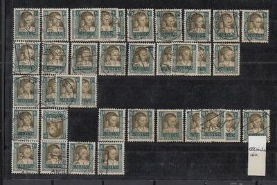 Jan948 LUXEMBOURG Caritas 1930 CANCELLED stamps
